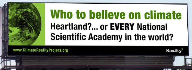 Climate Reality Billboard