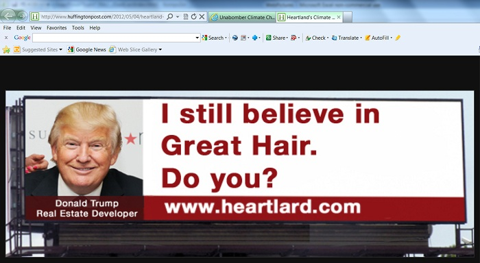 """I still believe in Great Hair. Do you?"