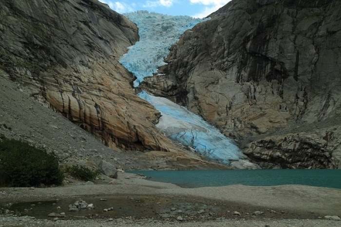 Briksdal Glacier in 2011