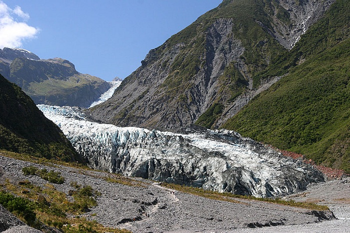The Fox Glacier in 2007