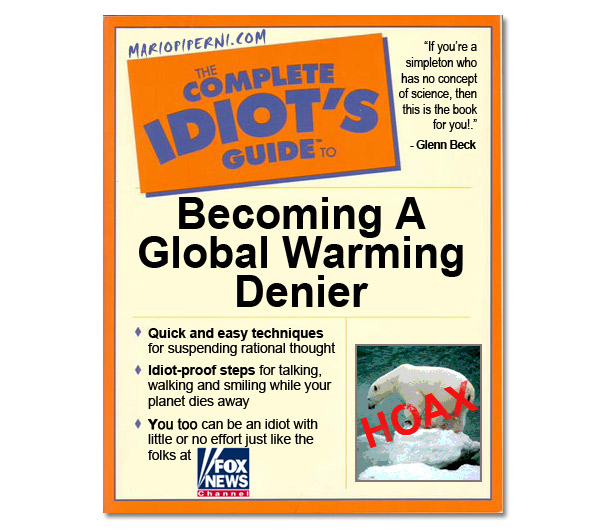 A text book for Global Warming Deniers