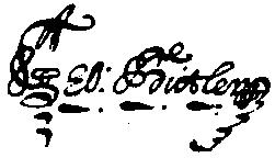 George Butler II's signature.