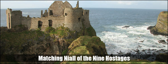 Possible site of the legendary home of Niall of           the Nine Hostages.