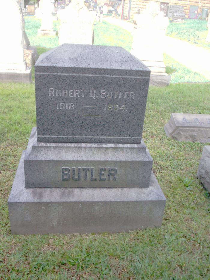 Gravestown of Robert Q Butler
