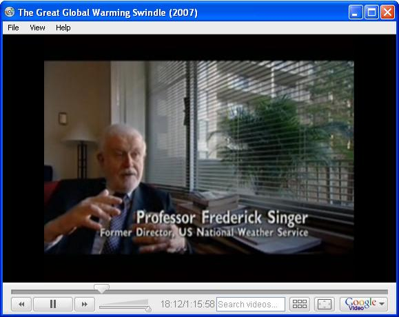 Fred Singer was never a Former Director, US National Weather Service