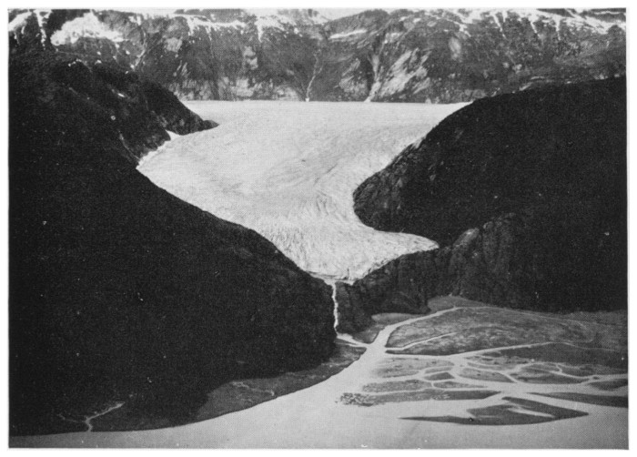 A 1934 view of the Hole-in-the-Wall Glacier