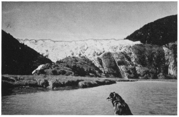 A 1941 view of the Hole-in-the-Wall Glacier